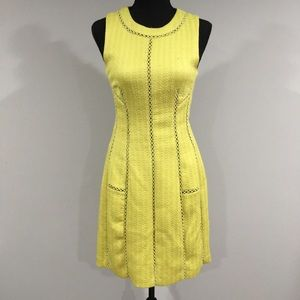 Rebecca Taylor Crochet Insert Dress